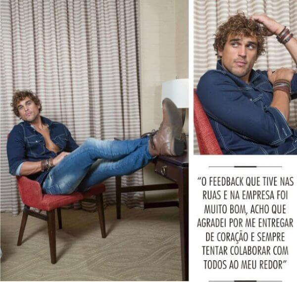 Felipe Roque na Mensch com Agathos